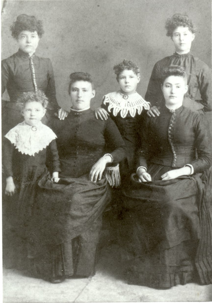 daughters of Peter and Ellen Snyder