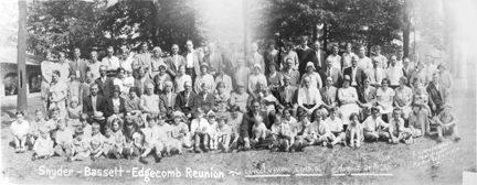Small image of 1930 Bassett-Edgecomb-Snyder Reunion
